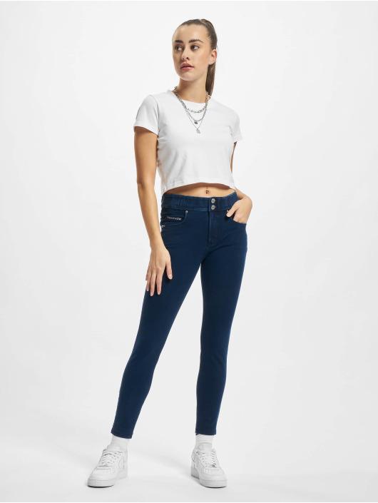 Freddy Skinny Jeans Now 7/8tel Denim Medium Waist Skinny blue