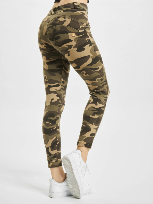 Freddy Skinny Jeans WR.UP 7/8 Regular Waist Super Skinny camouflage