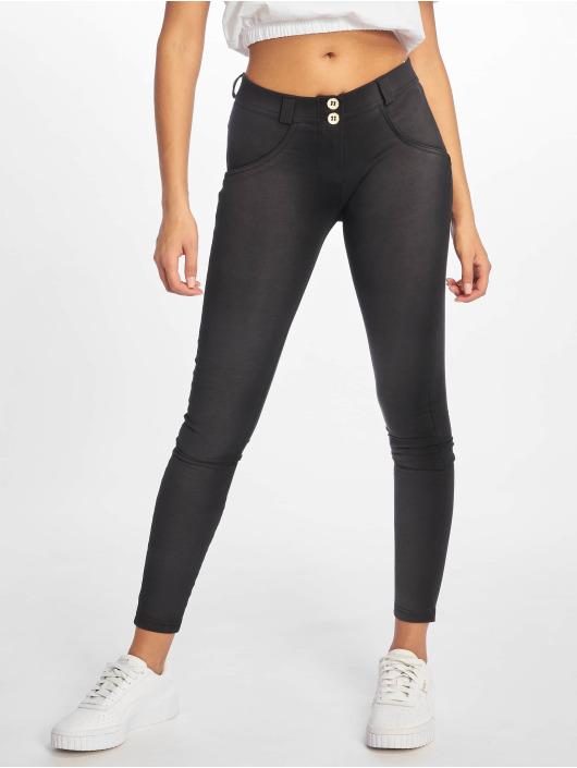 Freddy Skinny Jeans Regular Waist czarny