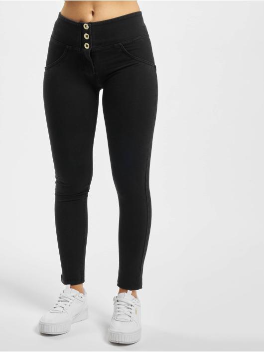 Freddy Skinny Jeans WR.UP Denim 7/8 Mid Waist Super Skinny czarny