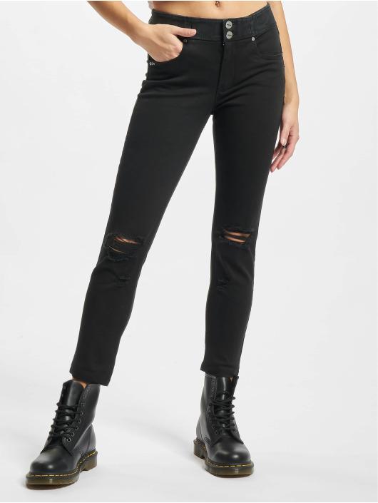 Freddy Skinny Jeans Now Regular 7/8 Medium czarny