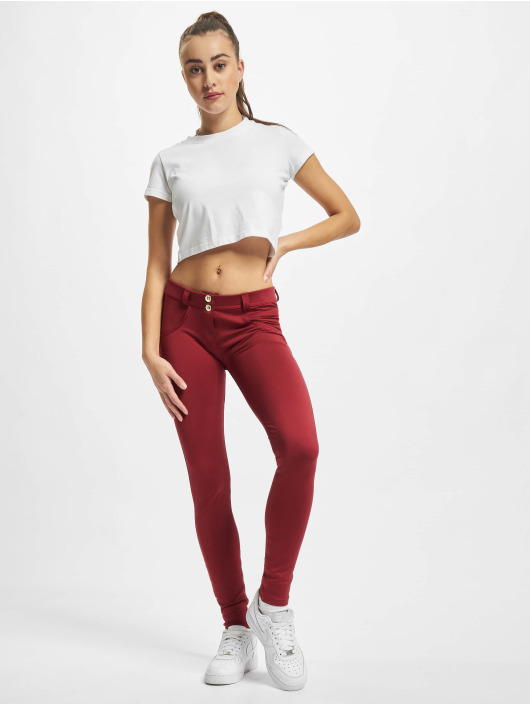 Freddy Skinny Jeans Waist czerwony