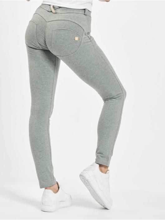 Freddy Skinny Jeans Regular Waist grau