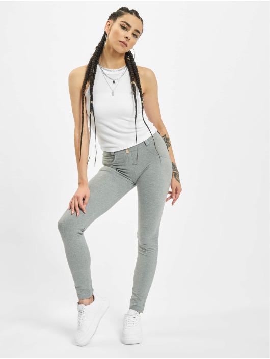 Freddy Skinny Jeans Regular Waist gray