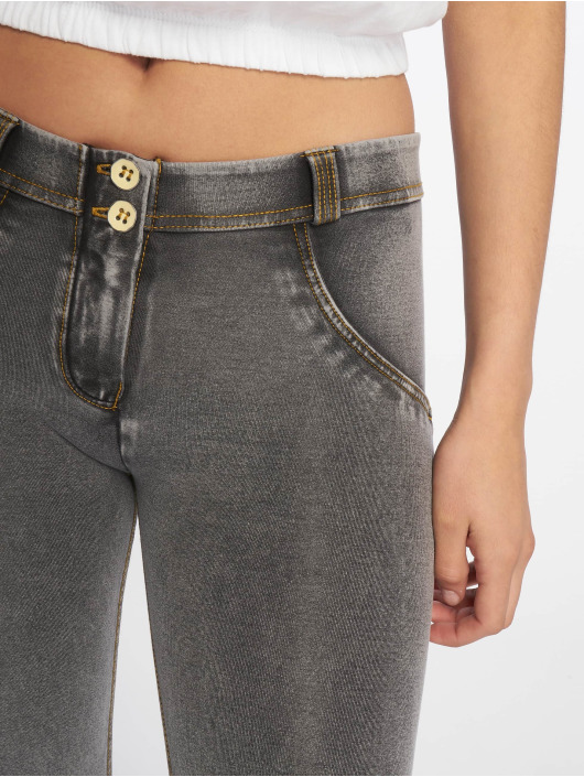 Freddy Skinny Jeans Regular Waist 7/8 Super grey