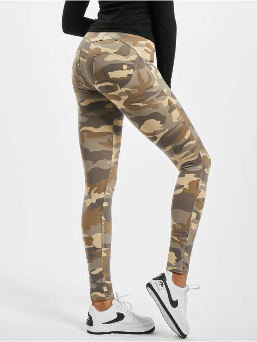 Freddy Skinny Jeans Regular Waist kamufláž