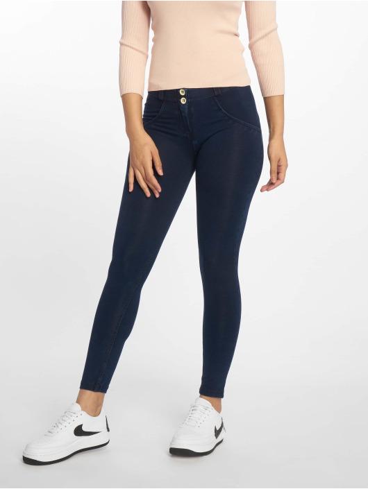 Freddy Skinny Jeans Regular Waist 7/8 niebieski