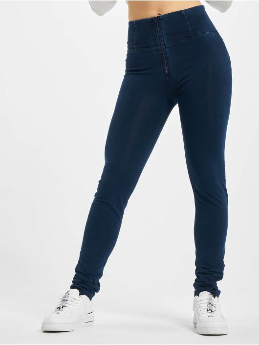 Freddy Skinny Jeans Highwaist niebieski