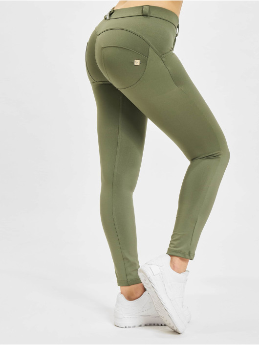Freddy Skinny jeans WR.UP D.I.W.O.  7/8 Regular Waist Super Skinny oliv