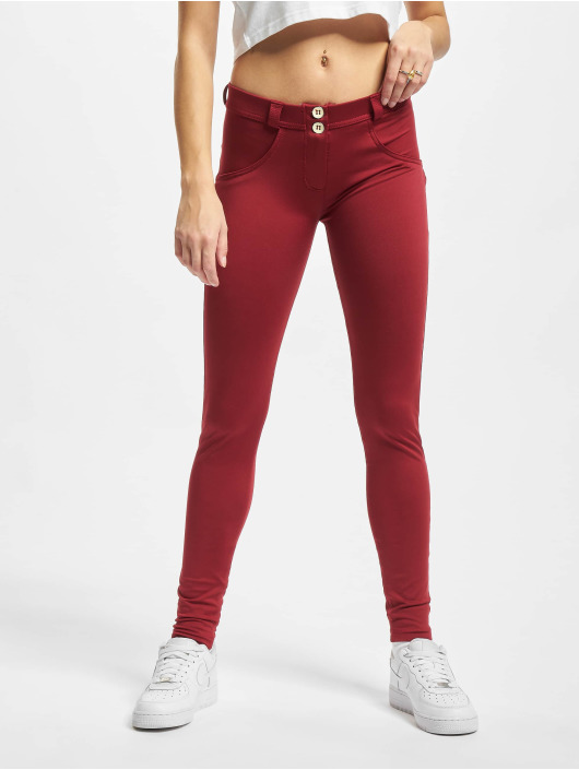 Freddy Skinny Jeans Waist rød