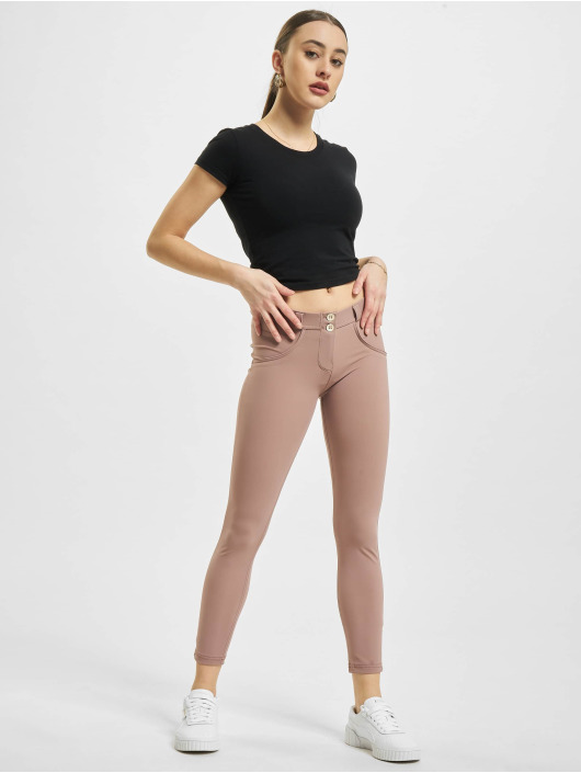 Freddy Skinny Jeans WR.UP D.I.W.O. Pro 7/8 Regular Waist Super Skinny rosa