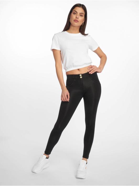 Freddy Skinny Jeans Regular Waist 7/8 Super schwarz