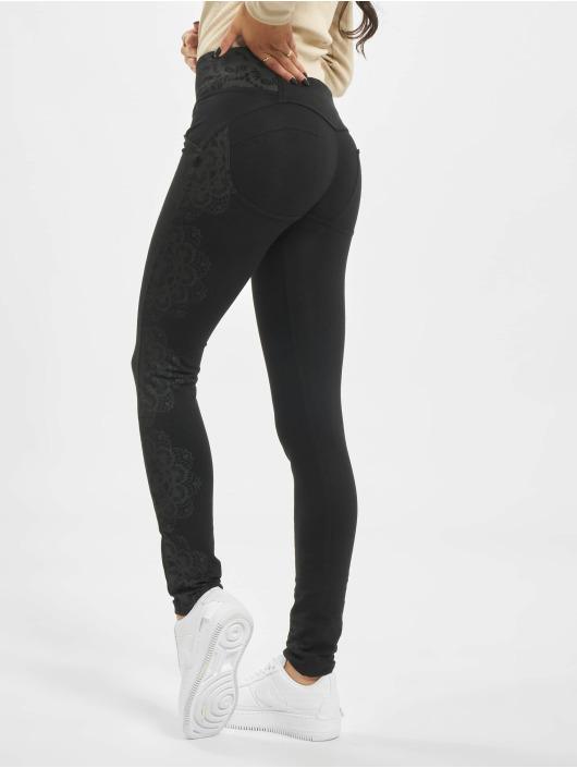 Freddy Skinny Jeans Medium Waist schwarz