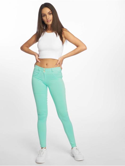 Freddy Skinny Jeans Regular Waist zielony