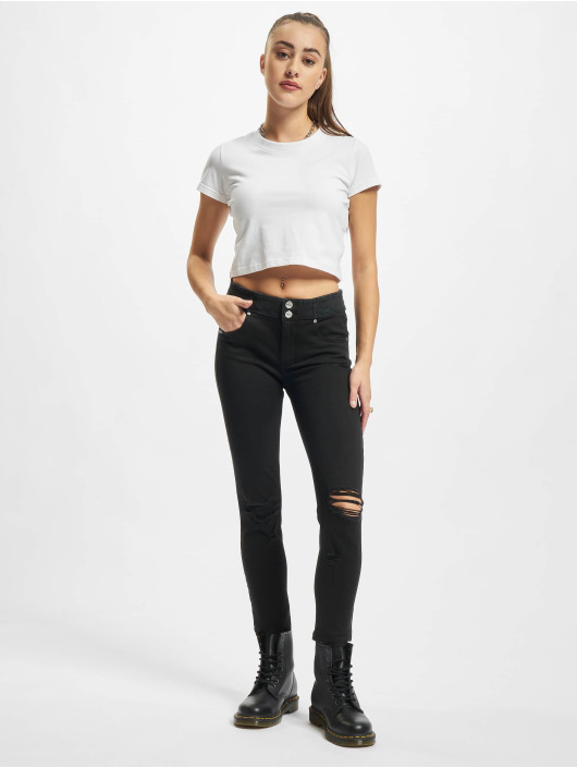 Freddy Skinny jeans Now Regular 7/8 Medium zwart