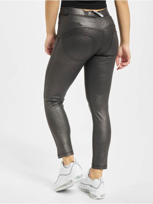 Freddy Slim Fit Jeans Regular 7/8tel Black Fancy šedá