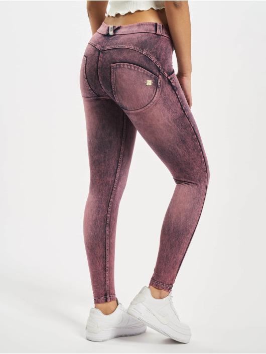 Freddy Slim Fit Jeans 7/8 Denim Marble Rinse violet