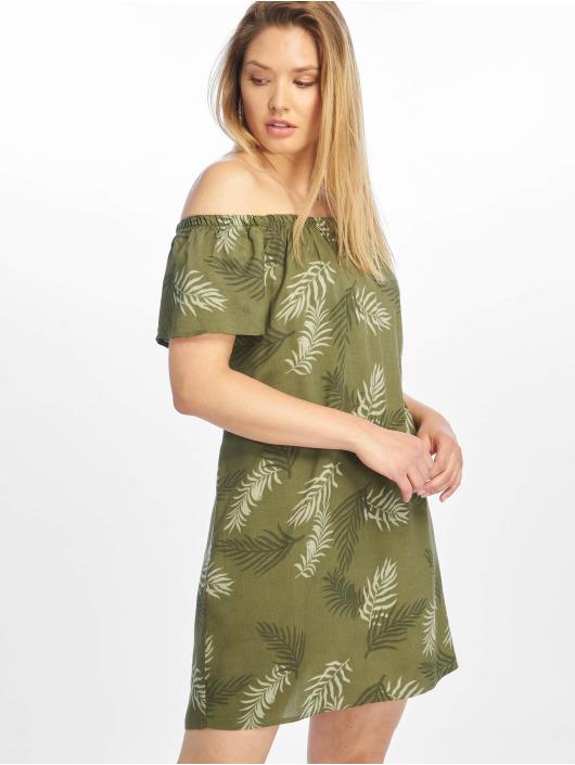 Fresh Made Šaty Tropic olivová