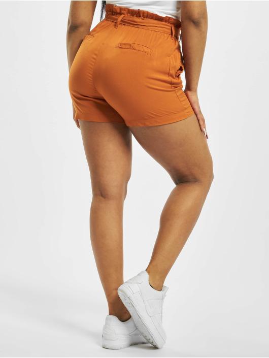 Fresh Made Šortky Elastic Waistband oranžová