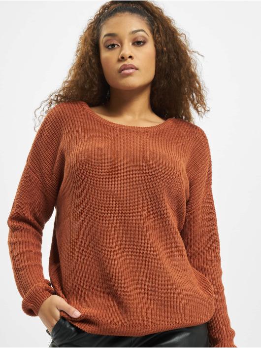 Fresh Made Пуловер Jannah коричневый