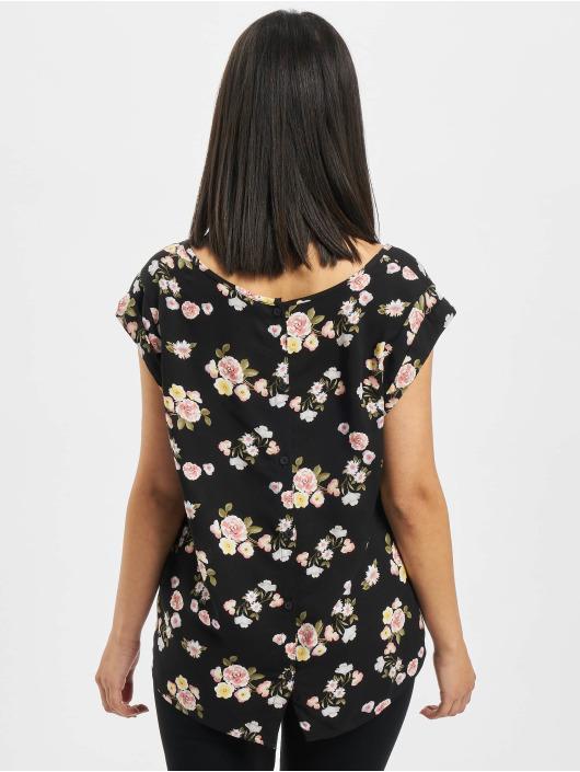 Fresh Made Bluse Flowers schwarz