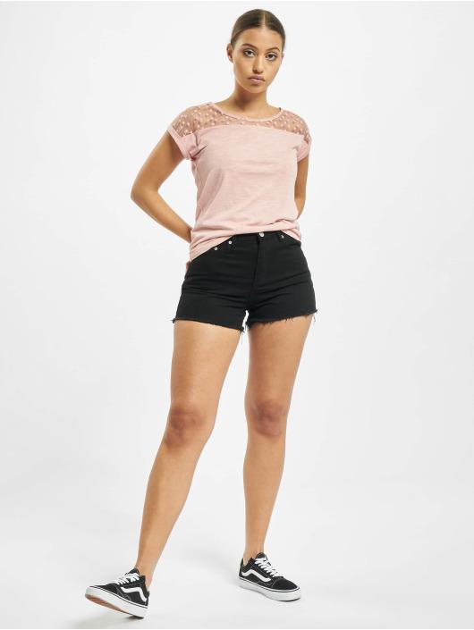 Fresh Made Camiseta Lace rosa