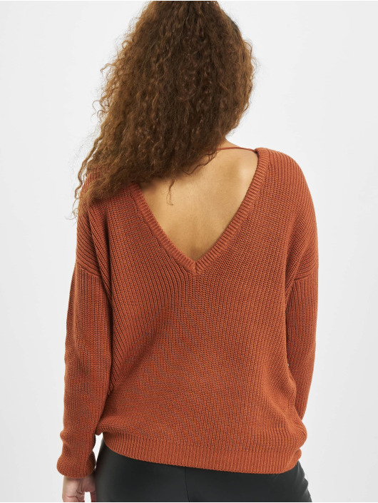 Fresh Made Pullover Jannah braun