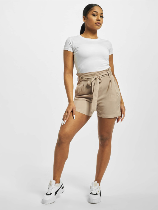 Fresh Made Short Elastic Waistband beige