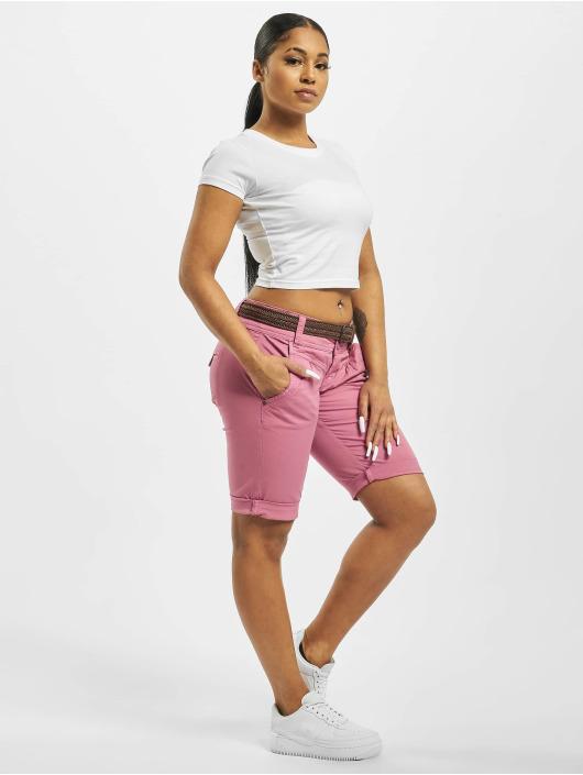 Fresh Made Short Belt Bermuda rose