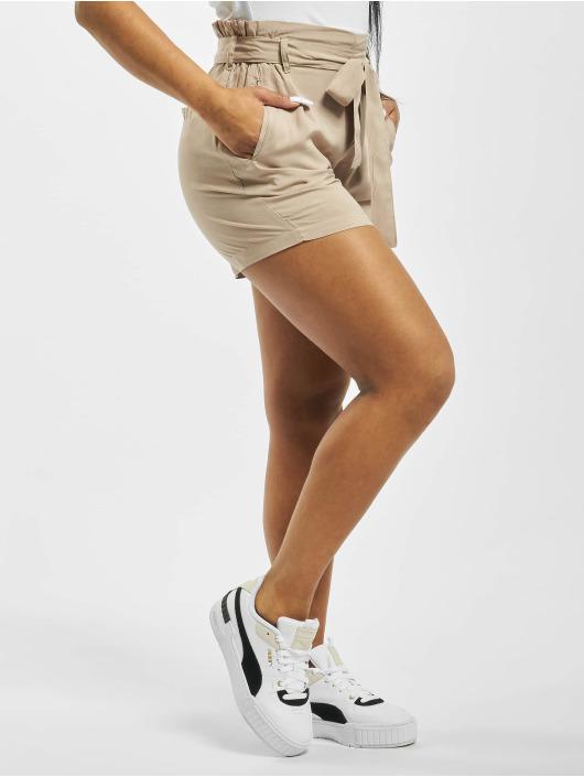 Fresh Made Shorts Elastic Waistband beige