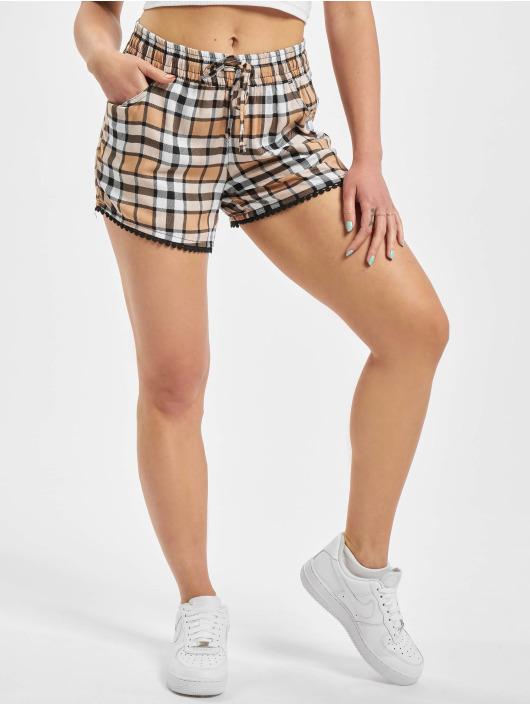 Fresh Made Shorts Check beige