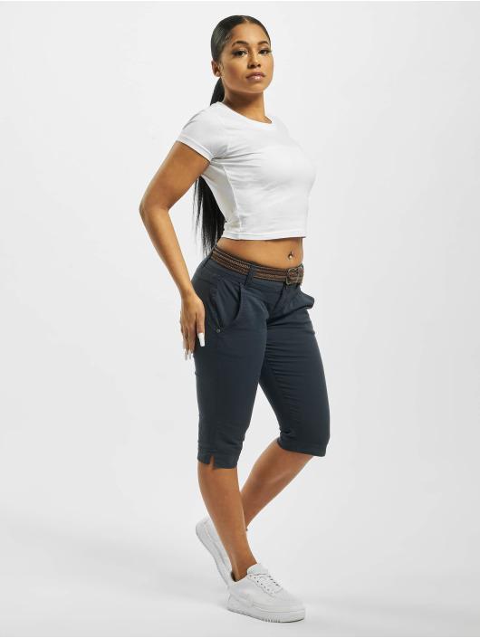 Fresh Made Shorts Belt Capri blå