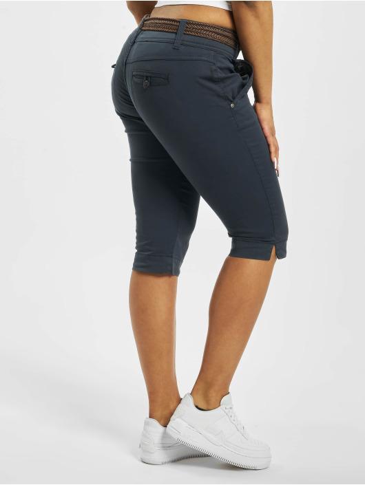 Fresh Made Shorts Belt Capri blau