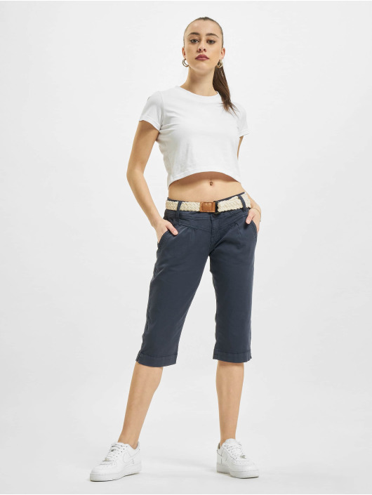 Fresh Made Shorts Capri blau