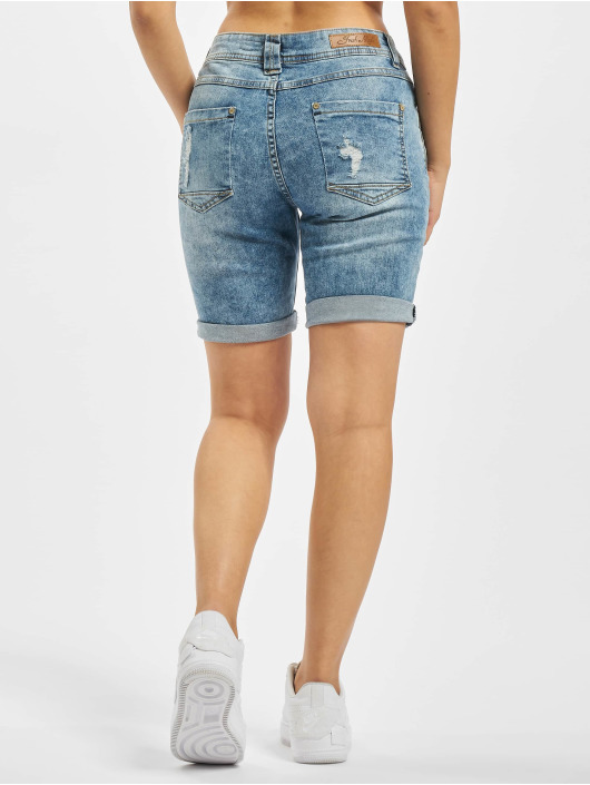 Fresh Made shorts Bermuda blauw