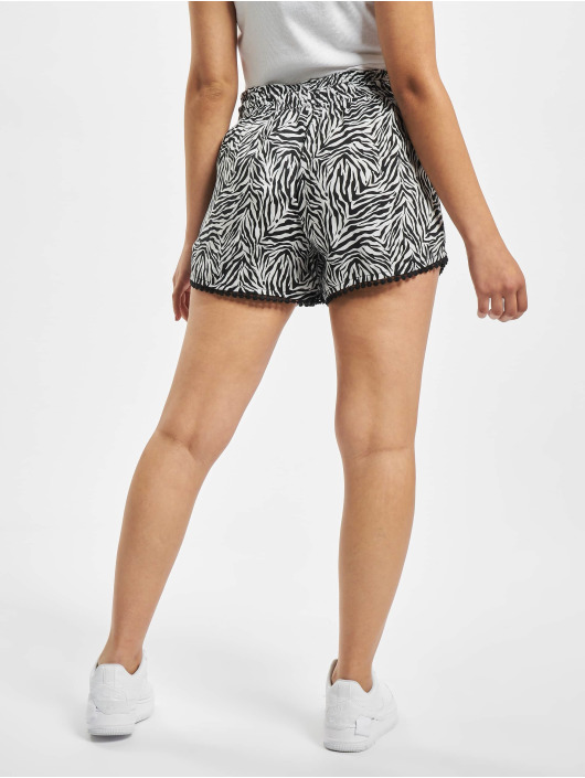 Fresh Made Shorts Zebra schwarz
