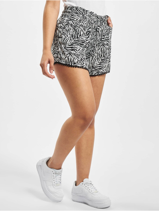 Fresh Made Shorts Zebra svart