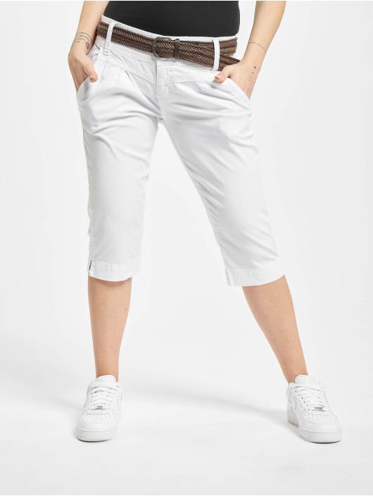 Fresh Made Shortsit Belt Capri valkoinen