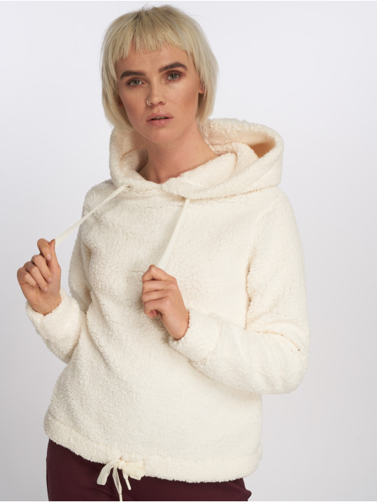 Fleece Blanc Fresh Made 593642 Capuche Femme Sweat 8ONwymvn0