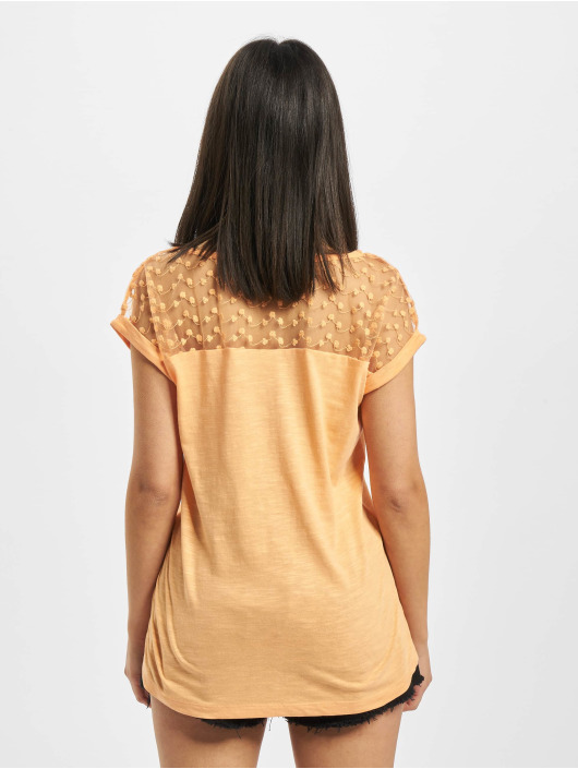 Fresh Made T-shirt Lace arancio