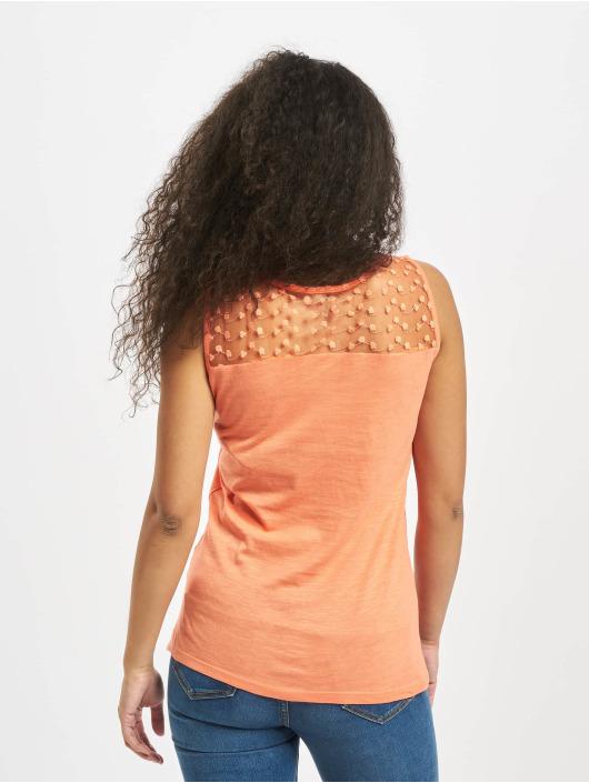 Fresh Made Topy/Tielka Sleeveless oranžová