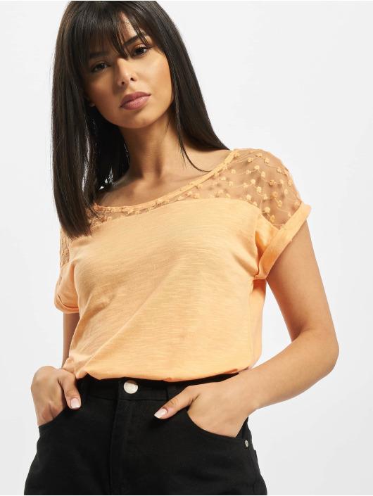 Fresh Made Trika Lace oranžový