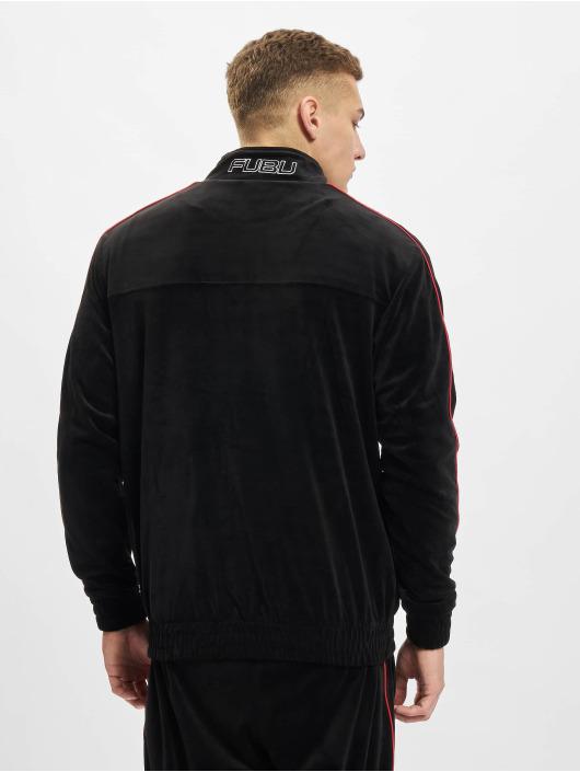 Fubu Демисезонная куртка Corporate Velours черный