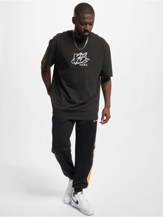 Fubu Спортивные брюки Varsity черный