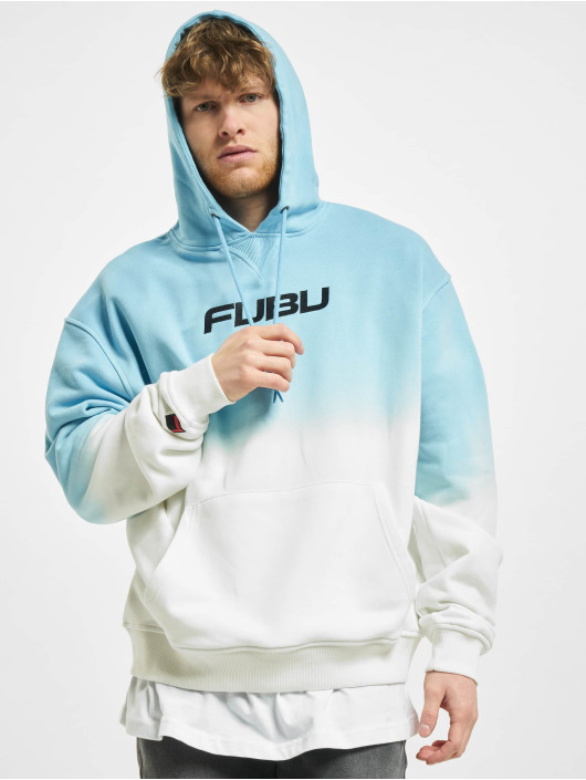 Fubu Bluzy z kapturem Corporate Gradient niebieski
