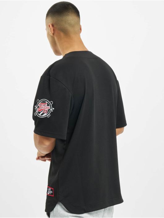 Fubu Hemd Fb Varsity Baseball Jersey schwarz