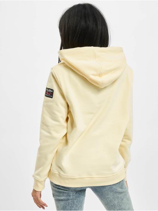Fubu Hoodie Varsity beige