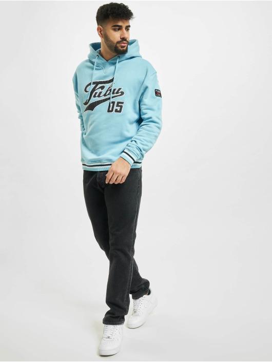 Fubu Hoodie Varsity Ss blue