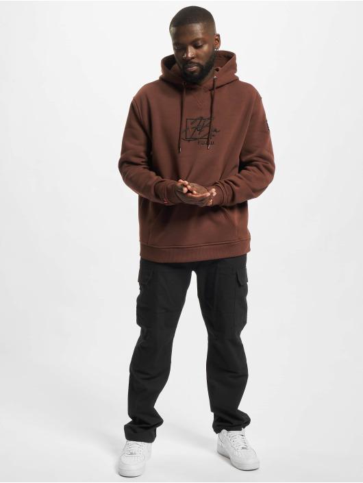 Fubu Hoodie Script Essential brun