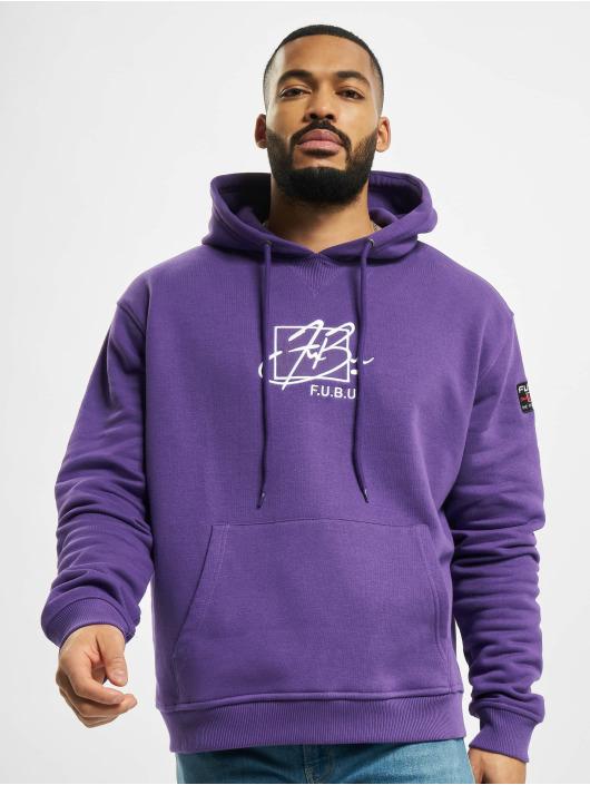 Fubu Hoodie Script purple
